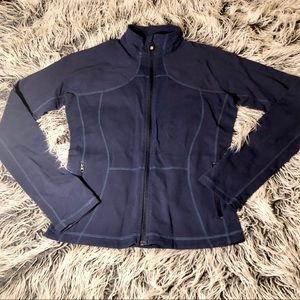 Lululemon Navy Full Zip Define Jacket  10